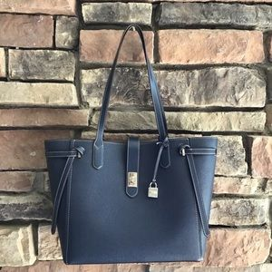 Michael Michael Kors Large Navy NWT Leather Tote